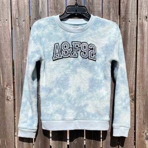 Abercrombie Kids Fuzzy Soft Tie Dye Sweatshirt